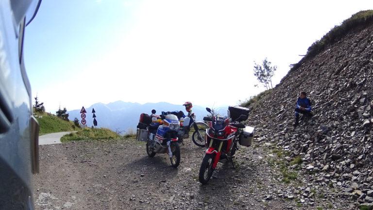 Von Mione auf den Passo della Forcella Friaul